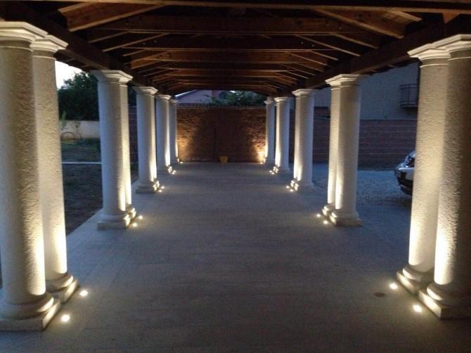 Illuminazione led esterno foto gallery